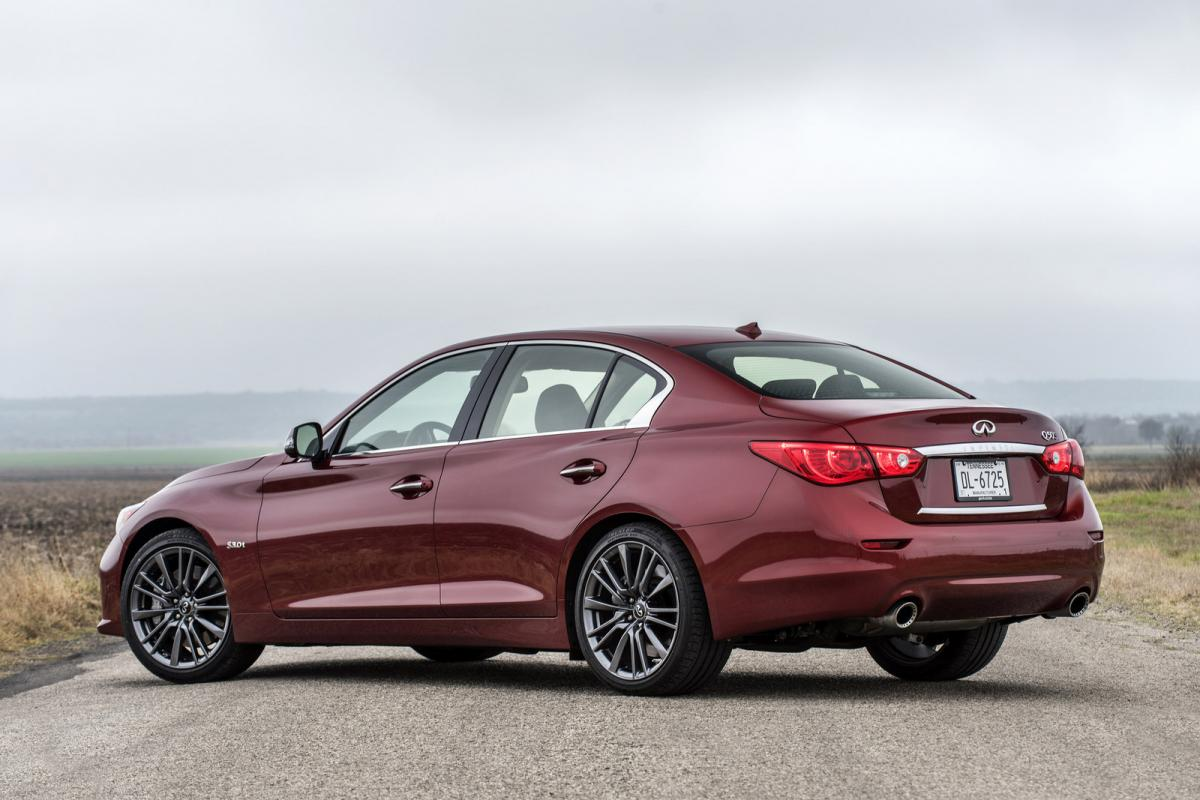 infiniti q50 red sport from the perspective of a bmw 3 series owner bimmerfest bmw forums. Black Bedroom Furniture Sets. Home Design Ideas