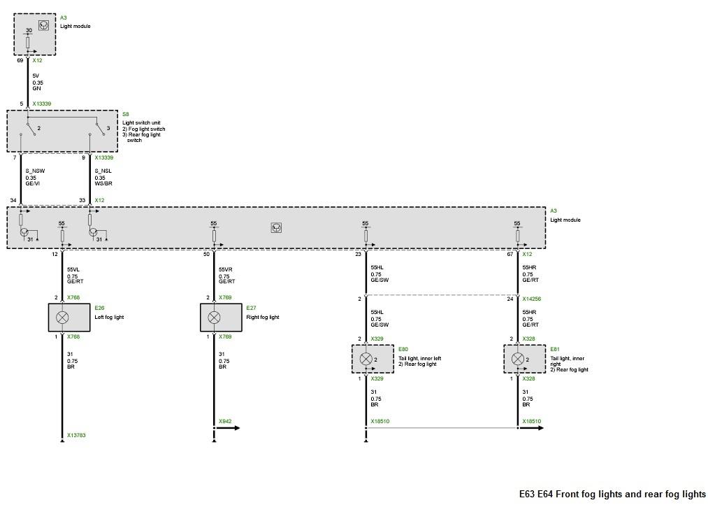 Bmw Fog Light Wiring Diagram