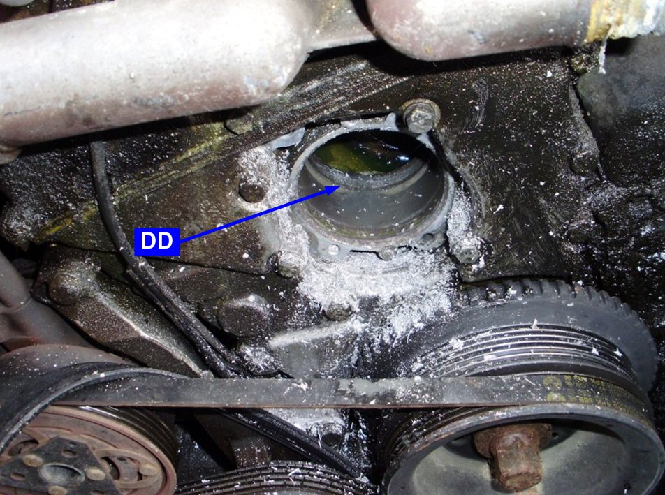 1994 bmw 318i water pump replacement