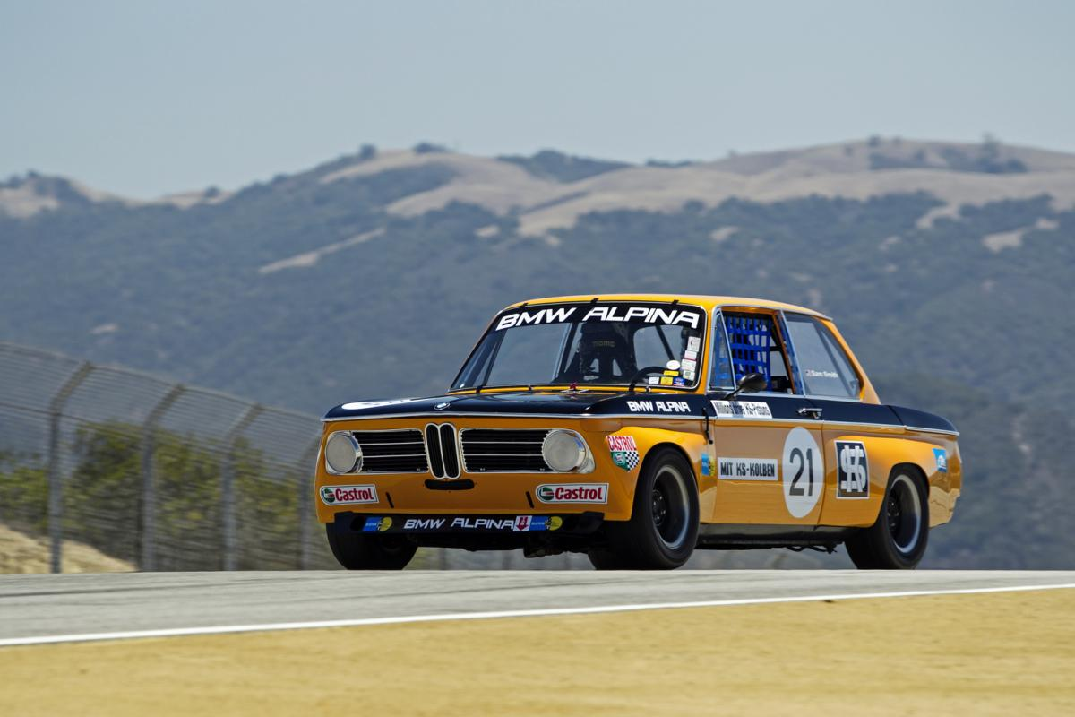 classic bmw race cars at Monterey Car week