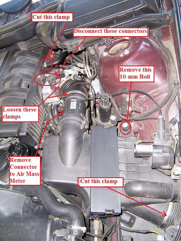 Crankcase Oil Seperator Ccv M52