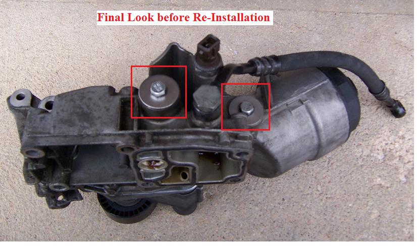 oil filter housing and oil pan gasket replacement estimate