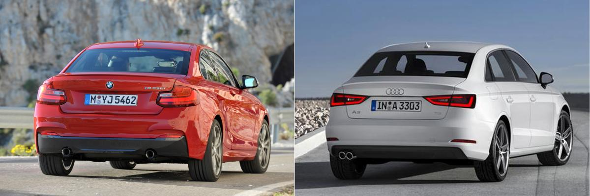 Photo Comparison BMW Series Vs Audi A Sedan Bimmerfest - Audi sedan series