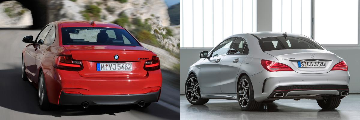 bmw serie 2 coupe vs mercedes cla
