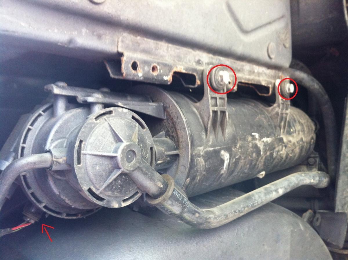 Evap System Leak Repair