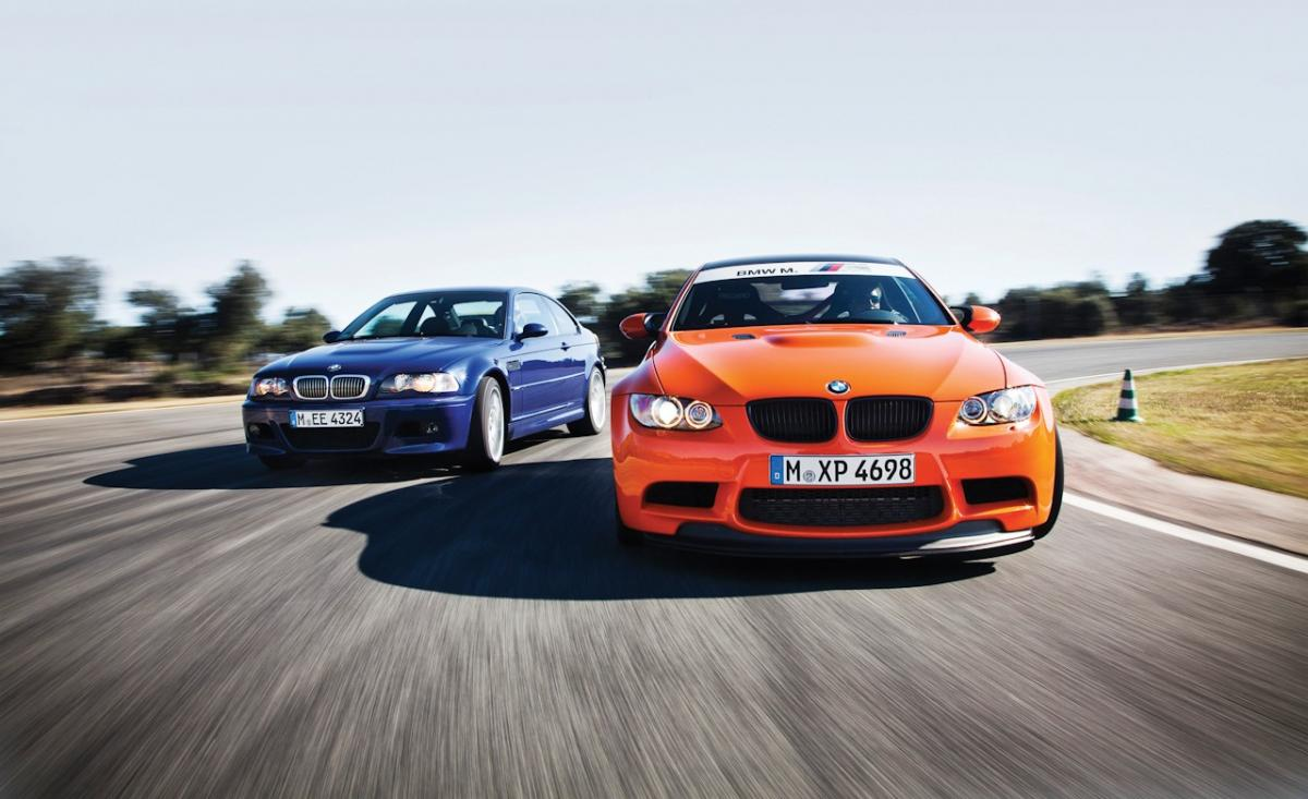 Car & Driver - The BMW M3 - Four Generations on the Track ...