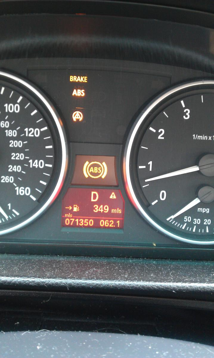 I Warning Lights Please Help Bimmerfest BMW Forums - Bmw e90 warning signs