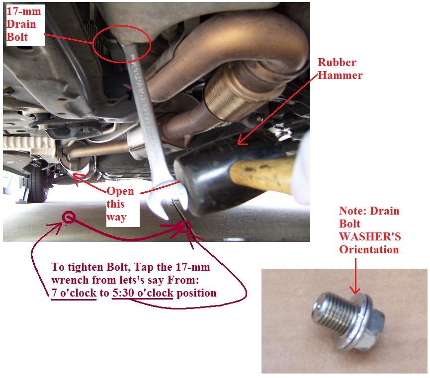 Which Socket Wrench To Use For Oil Drain Plug Bimmerfest