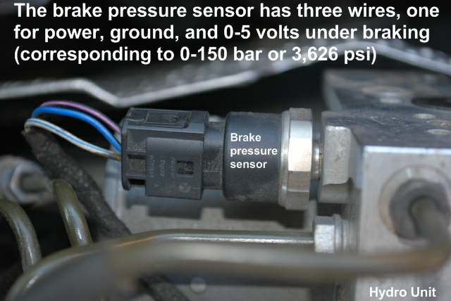 Brake Pressure Sensor Dsc Abs Brake Trifecta