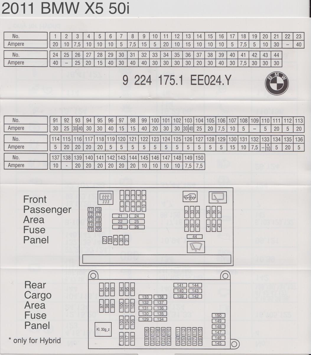 2009 x5 fuse panel layout - bimmerfest - bmw forums 2005 bmw x5 fuse box diagram 2007 bmw x5 e70 fuse box location bimmerfest