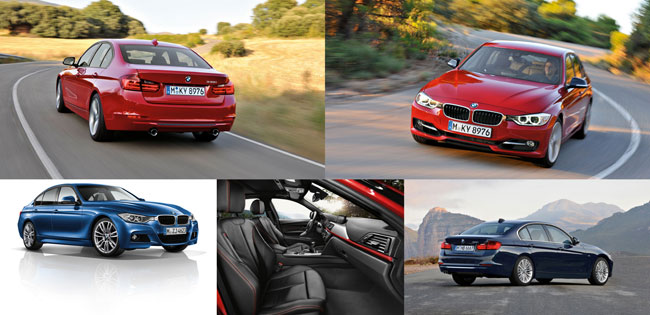 2012 BMW F30 3 series sedan world premier - Available in dealerships February 2012