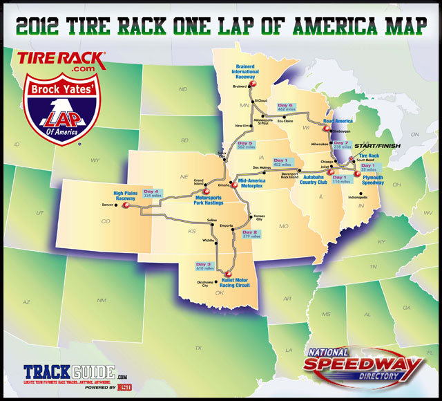 2012 One Lap of America - BMW M5
