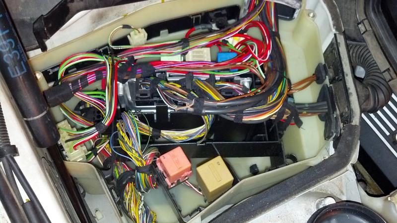 e38 730d glow plug relay - diskusiju t u0113ma
