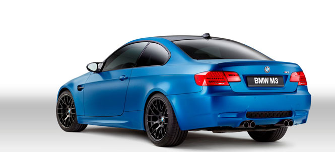 2013 BMW M3 Limited Edition Frozen Red, White and Blue
