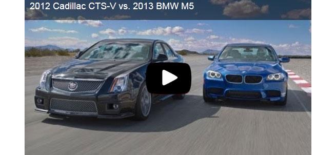 2013 BMW F10 M5 vs 2012 Cadillac CTS-V