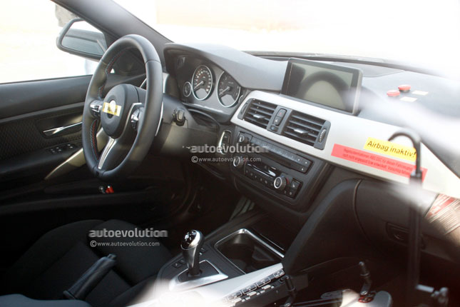 Next generation F80 M3 interior