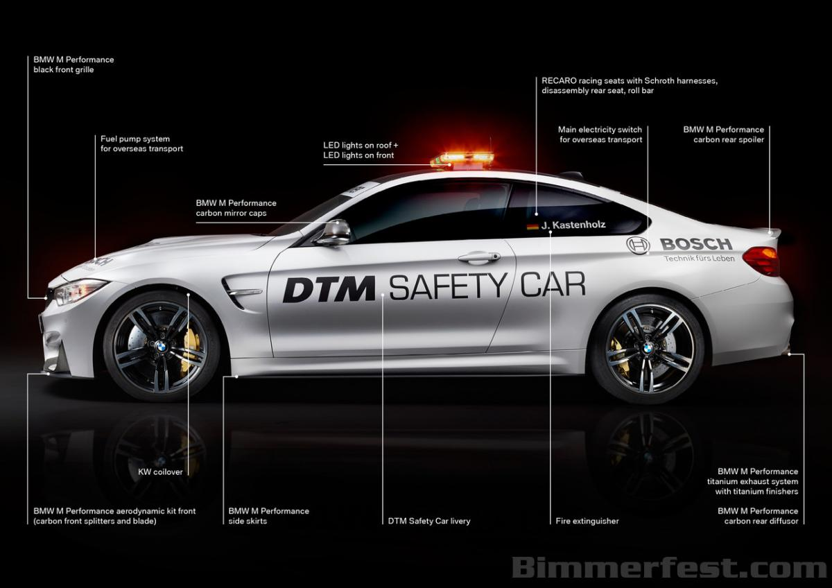 �m4 safety car�