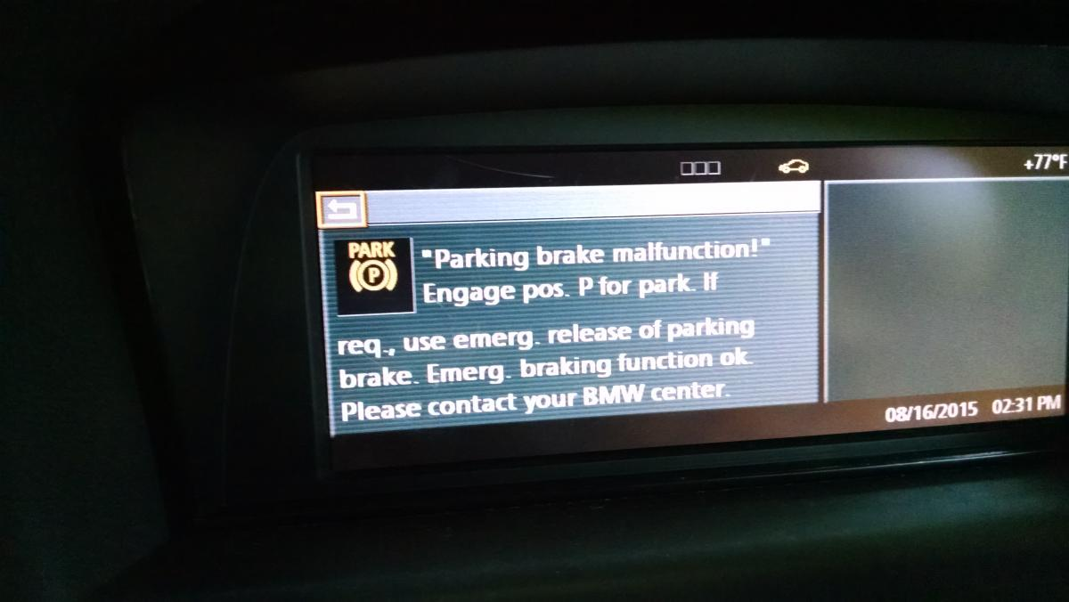 Parking Brake Cable Replacement Diy Error Codes 6030 And D3be