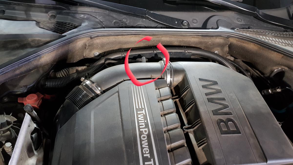 N55 Vacuum Leak