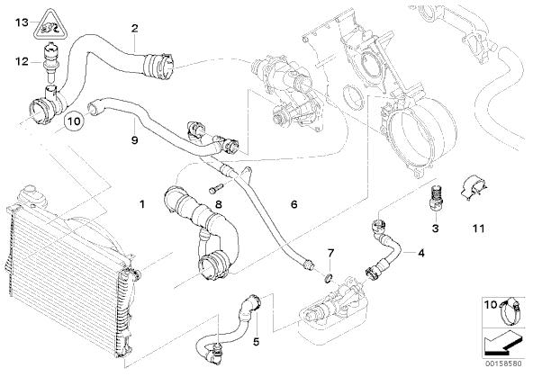 Mini Cooper Engine Coolant Temperature Sensor Location