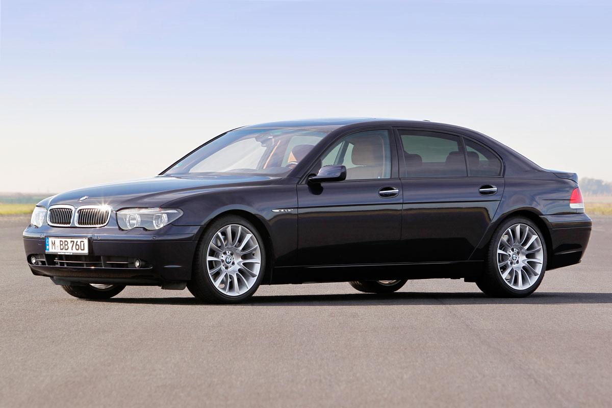 BMW E65 750i v12 7 series