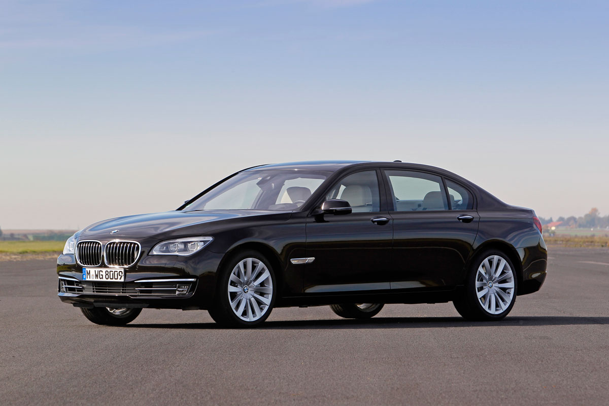 New BMW 760i turbo v12 7 series