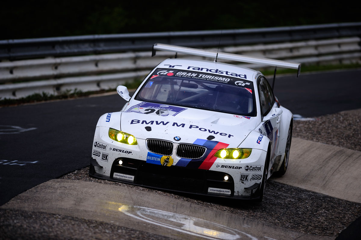 BMW E92 M3 ALMS Race Car
