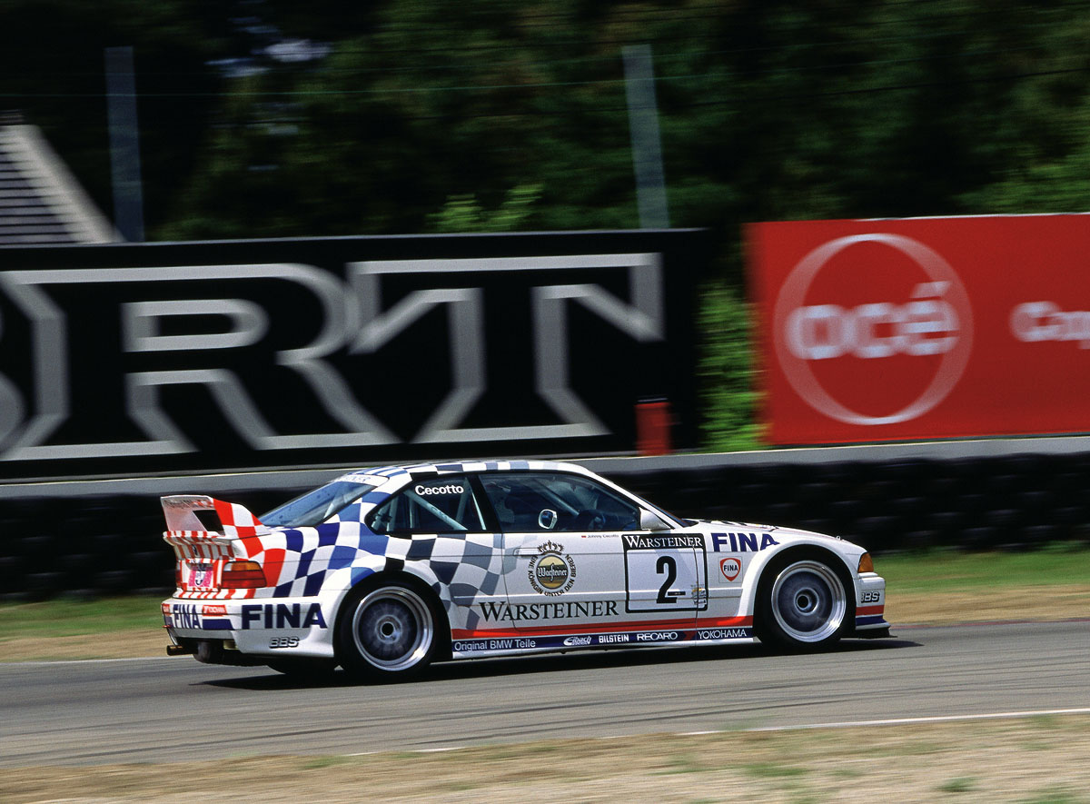 BMW E36 M3 race car - First six cylinder M3