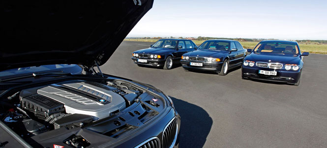 25 years of v12 powered 7 Series