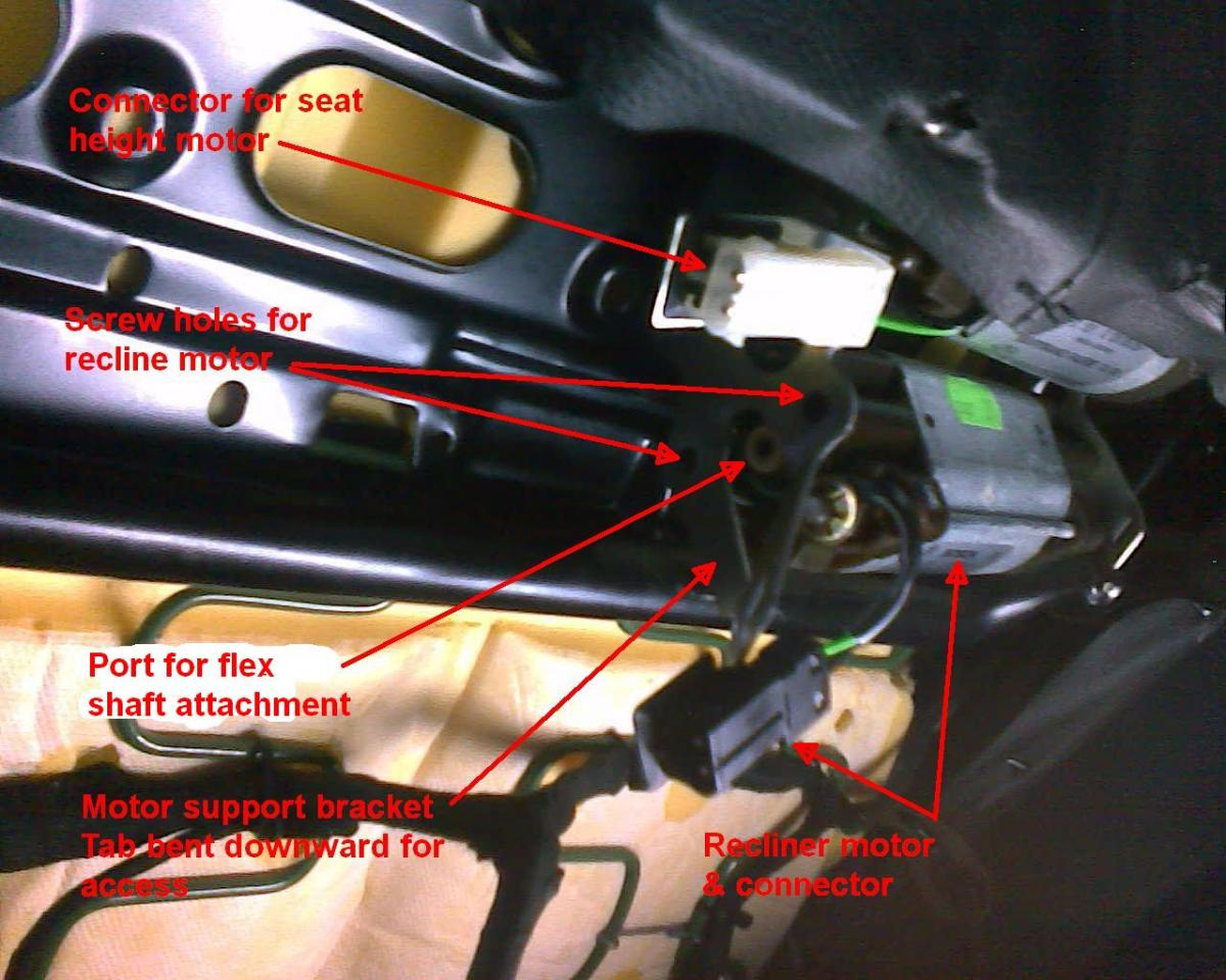Seat Twist Repair Without Removing Seat - Bimmerfest