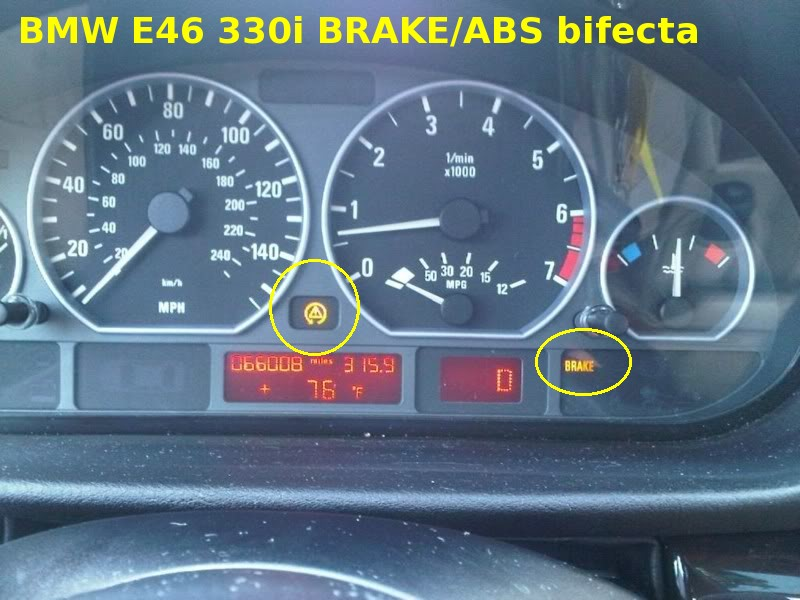e46 abs control module harness wheel sensor pinout for the abs, Wiring diagram
