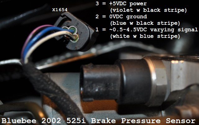 Brake Pressure Sensor Dsc Abs Brake Trifecta
