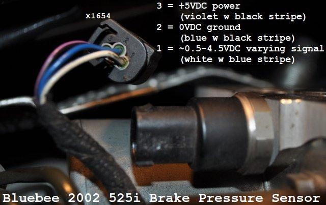 Brake Pressure Sensor  Dsc  Abs  Brake Trifecta  - Bimmerfest