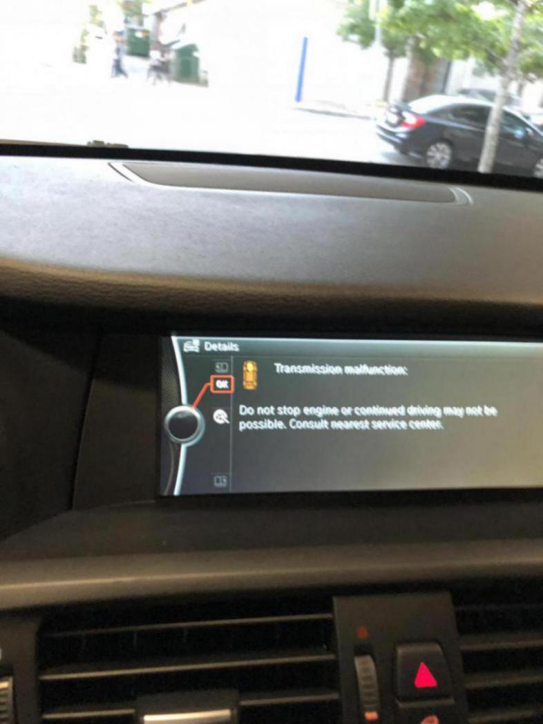 Transmission Malfunction Error During Auto Start Stop Disappears Bimmerfest Bmw Forum