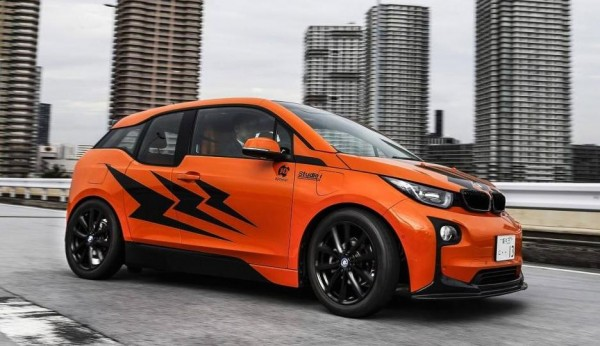 Bmw I3 Forum >> Fire Orange Modded Out Bmw I3 From Studie And 3d Design Japan