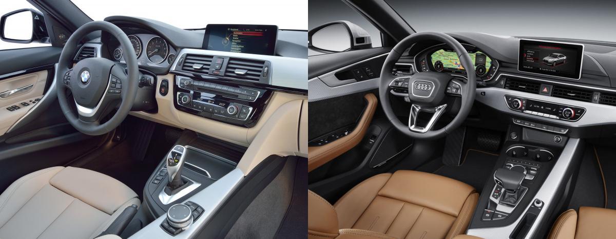 SidebySide New Audi A Vs BMW Series LCI Bimmerfest BMW Forums - Bmw 328i vs audi a4