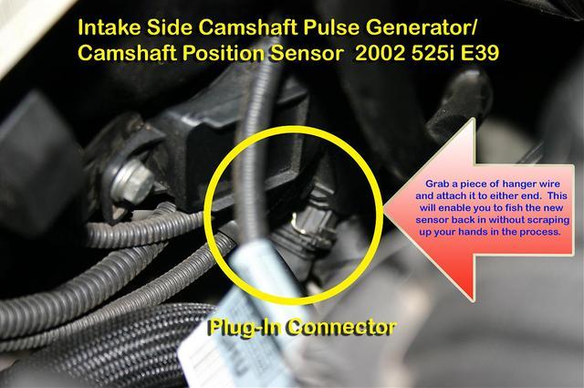 Cam Camshaft Position Sensor Intake CPS For BMW E34 E36 E39 E46 Z3