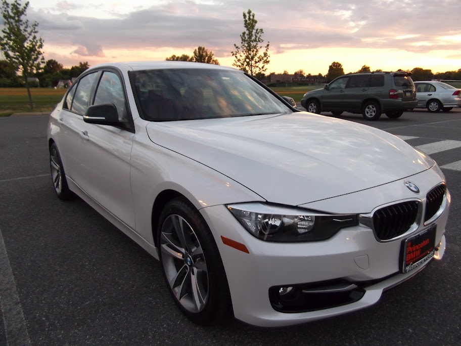 BMW F30 3 series Mineral White