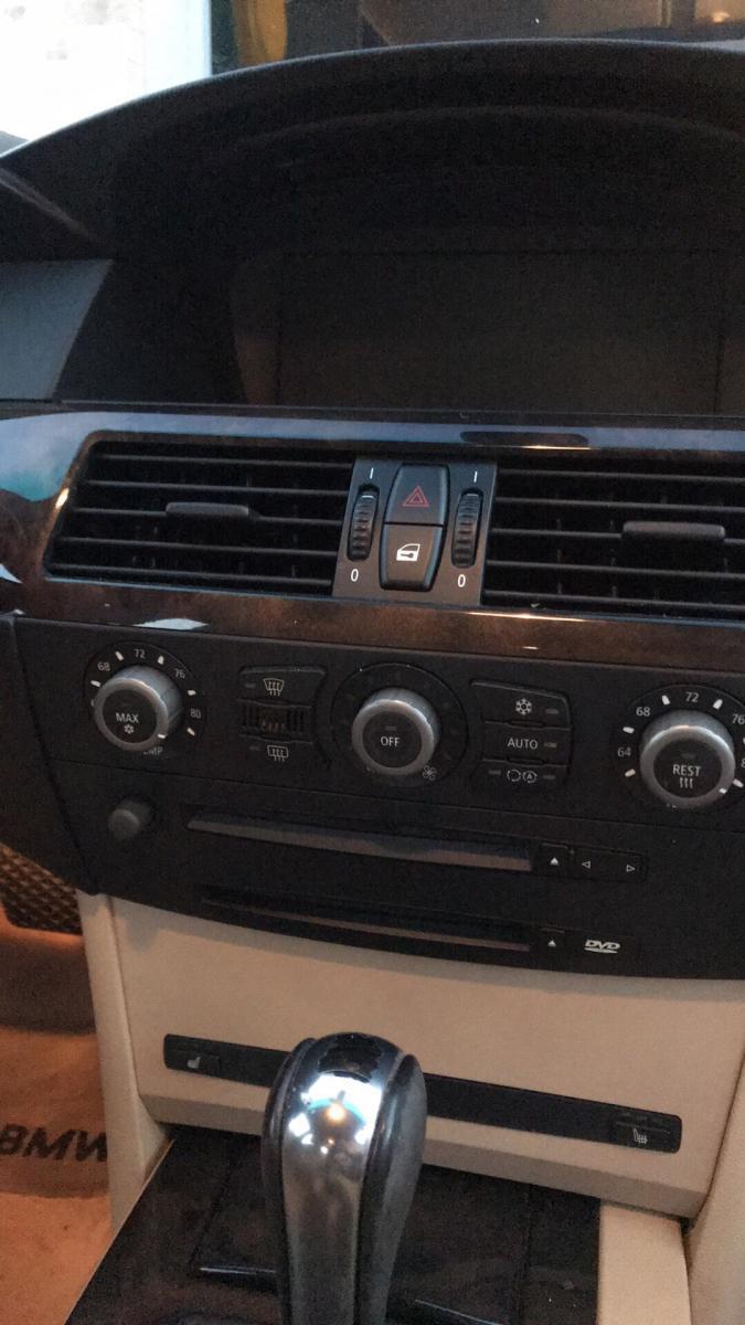2004 530i E60 Radio Inop Screen Black No Sound Bimmerfest Bmw