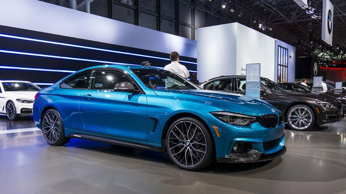 BMW 4 series snapper rocks blue