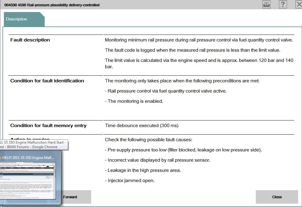 HELP! 2011 X5 35D Engine Malfunction Hard Start - Bimmerfest
