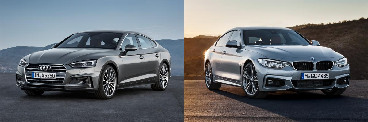 Side by side: BMW 4 Series Gran Coupe vs Audi A5/S5 ...