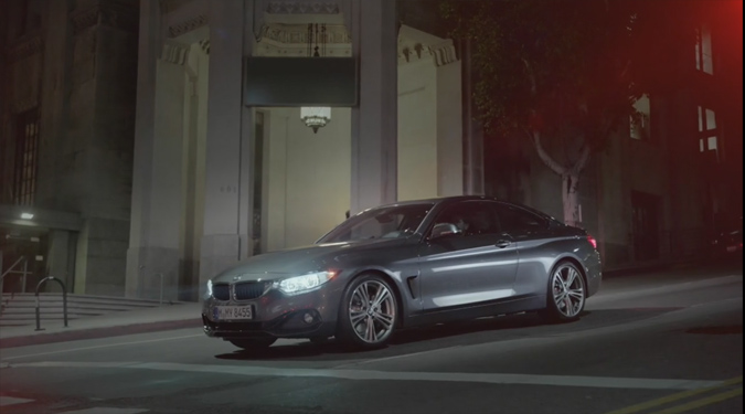 BMW 4 Series Commercial