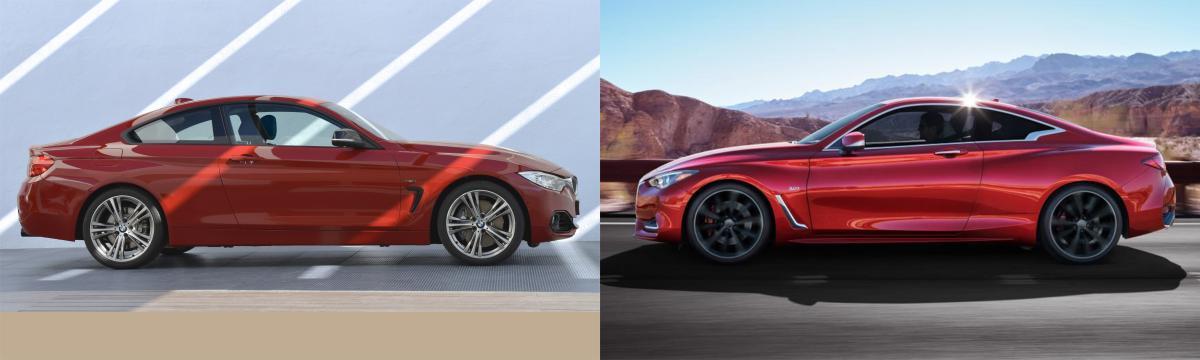 Sidebyside BMW Series Vs Infiniti Q Bimmerfest BMW Forums - Bmw 4 by 4