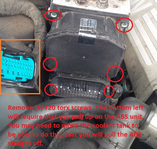 ABS / DTC Module Removal DIY and Repair Review - Bimmerfest - BMW Forums