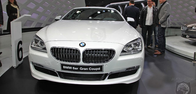First Photos of the 6 Series Gran Coupe in Alpine White