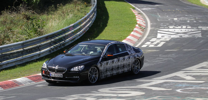BMW 6 Series Gran Coupe nears production