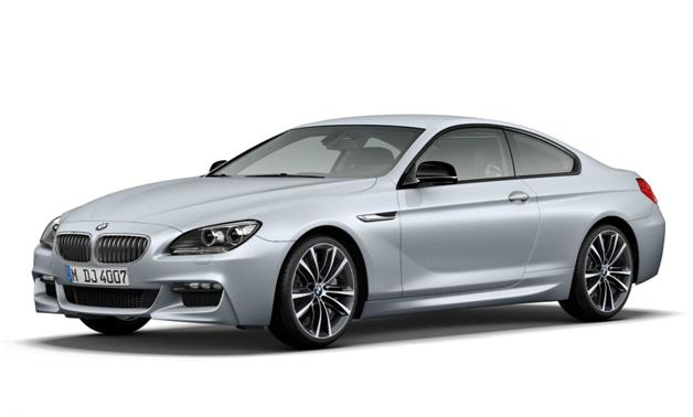BMW 6 Series Frozen Silver