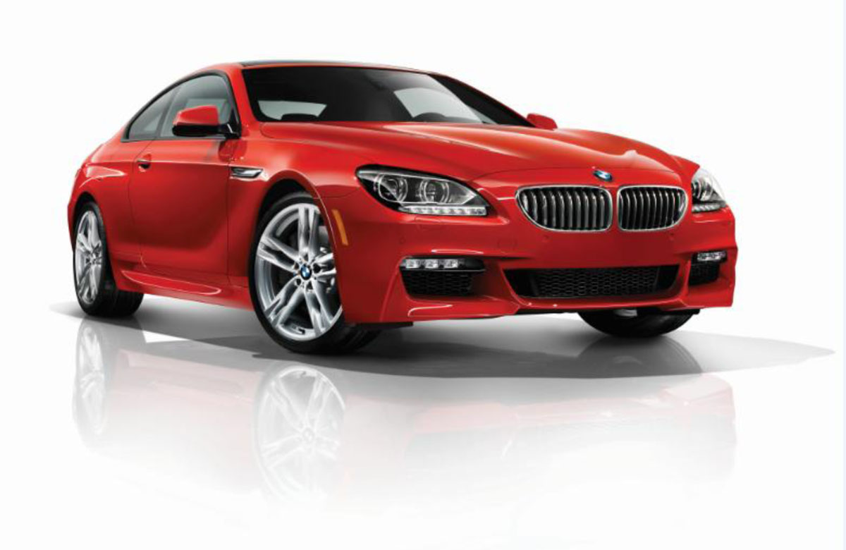 6 Series M Sport Sakhir Orange