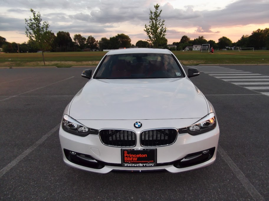 F30 BMW 3 series in Mineral White